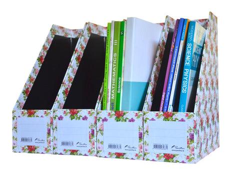 Magazine Holder - Classic Flowers