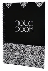 Note Pad A4 Side Spiral Ruled - LIYAWELA