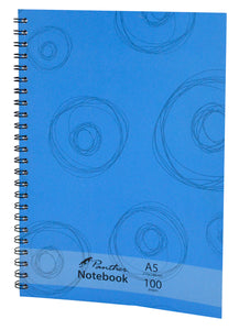 Note Pad A5 Side Spiral Ruled - BLUE CIRCLE