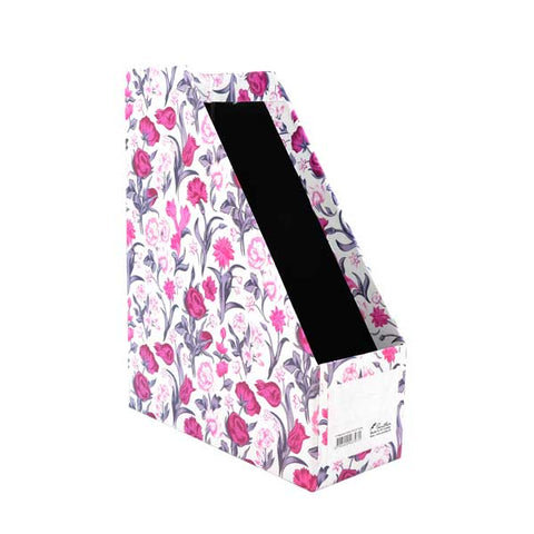 Magazine Holder - Pink & Purple