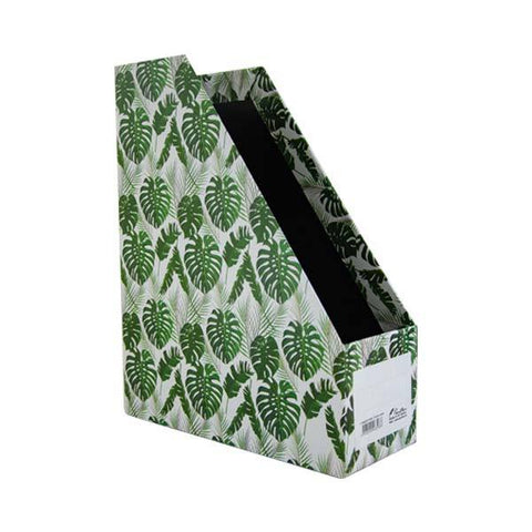 Magazine Holder - Tropical Leaves