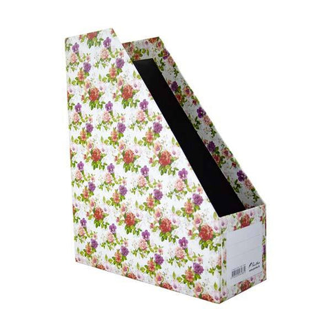Magazine Holder - Classic Flower
