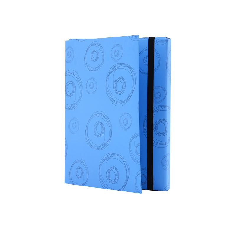 Document Holder Design - Blue Circle