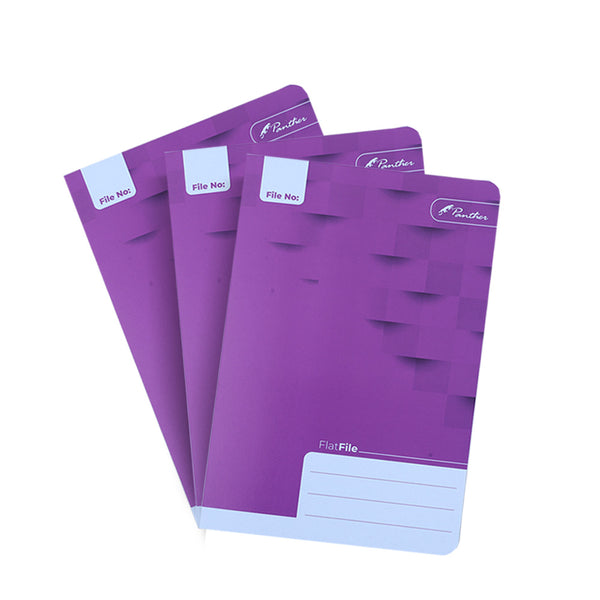 Flat File Pack- Purple