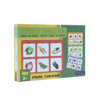 Fruits & Vegetables Puzzle -Box