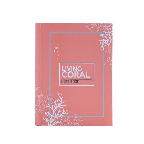 Living Coral Notebook A5