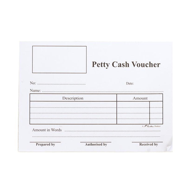 Petty Cash Voucher Pad 50L (1Pack-6Nos)
