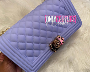 Lavender Matte Jelly Bag