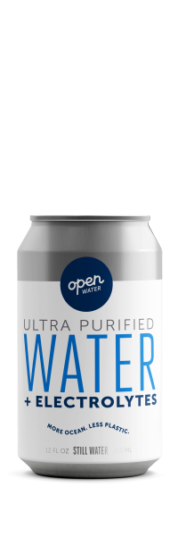 Open Water Still Canned Water 12oz can
