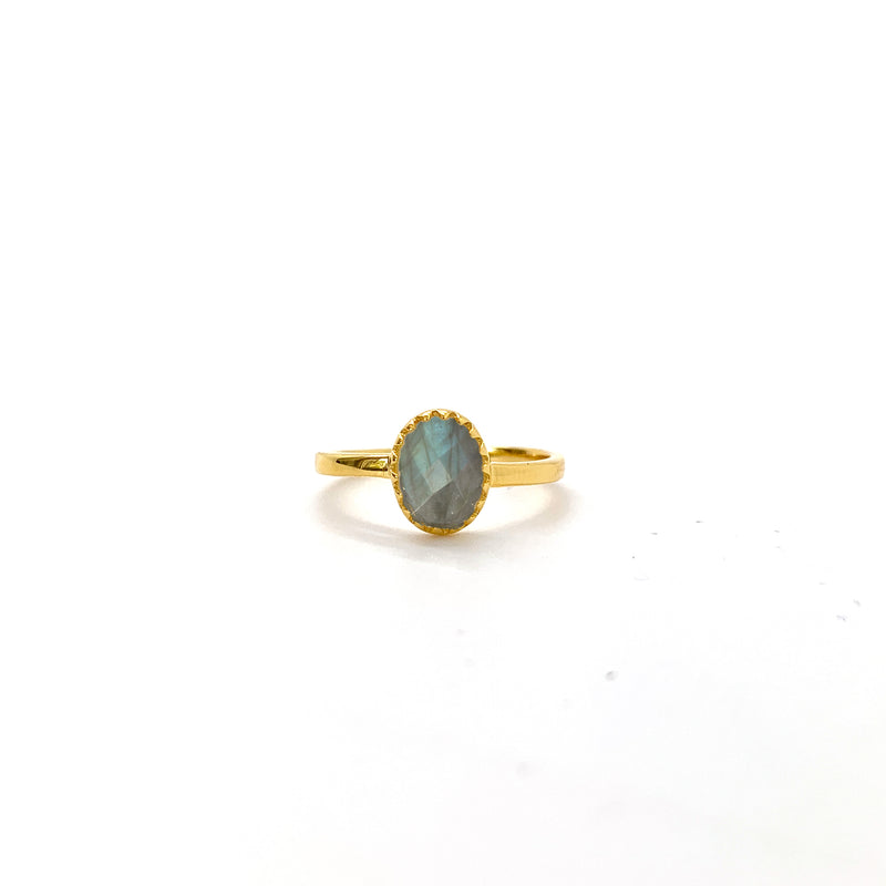 Labradorite Royal Ray of Light Gold