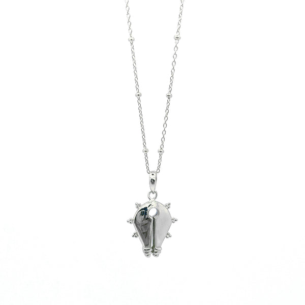 The Mamuli Necklace II Silver