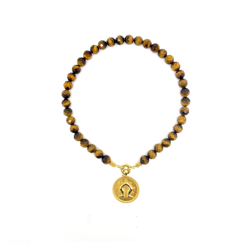 Eye of the Tiger Mamuli Necklace