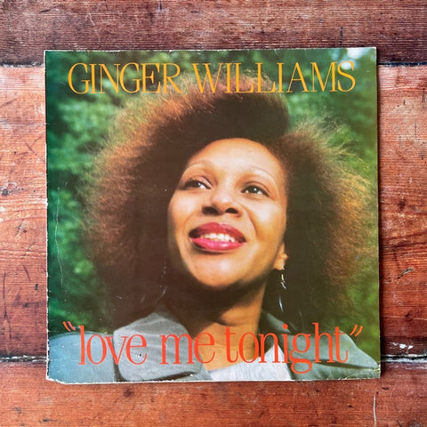 Ginger Williams ‎– Love Me Tonight