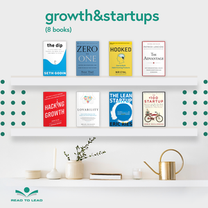 Growth & Startups - 8 Books