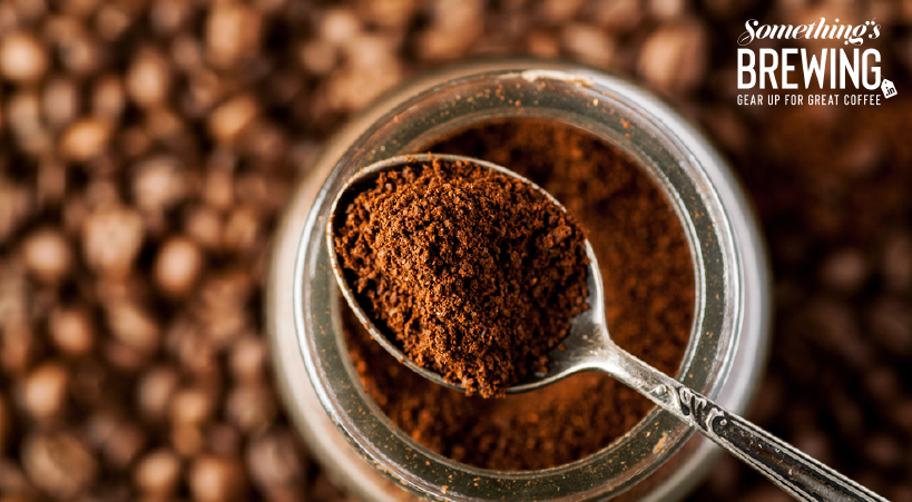 What is ground coffee?
