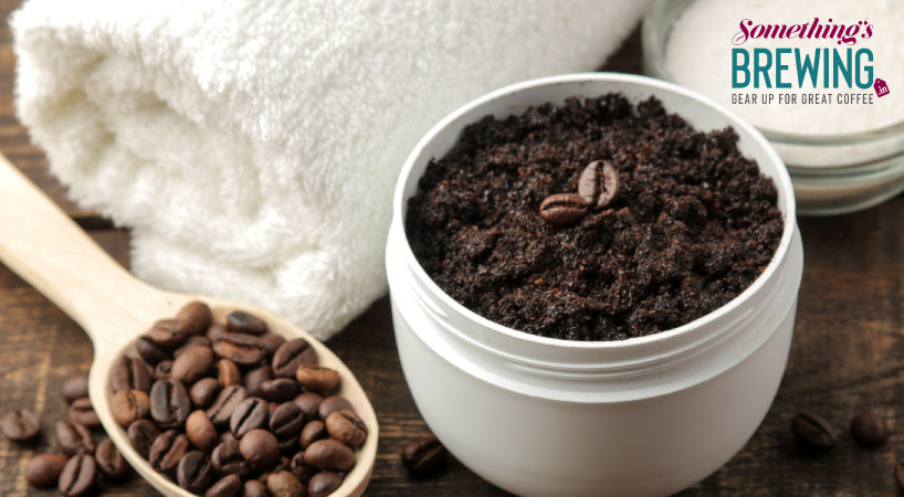 Filter coffee powder will actually work for your face!