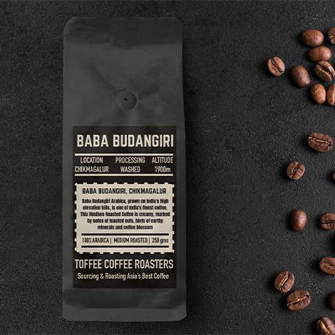 Toffee Coffee - Baba Budangiri Estate Coffee - 1900 MT - Somethings Brewing Store