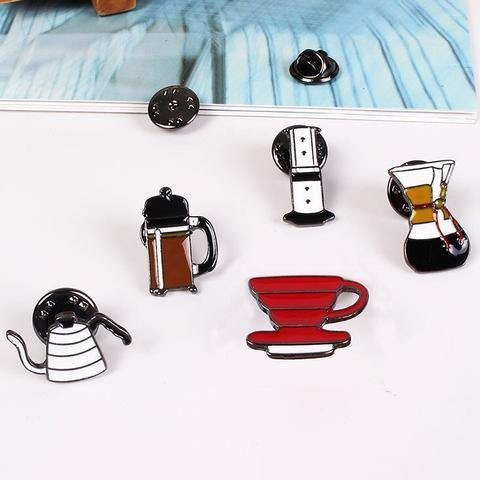 Barista Space Barista Pins 5pcs/Set - Somethings Brewing Store
