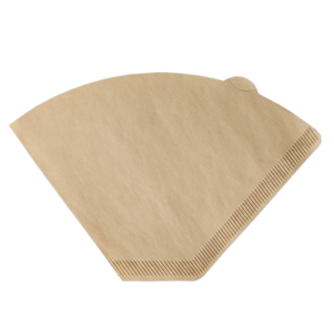 Finum coffee filters are made up of True-flavor unbleached paper (chlorine-free). It is light brown in color and is of size 2.