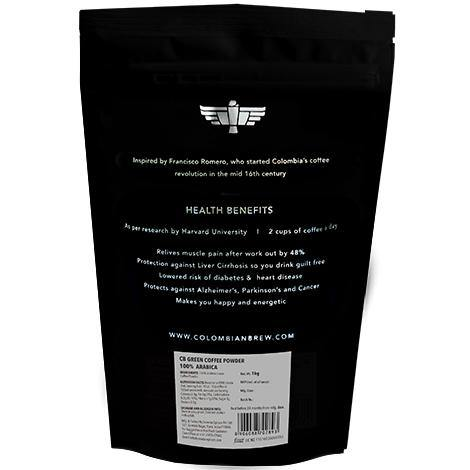 Colombian Brew 100% Arabica Green Coffee Beans Powder 1Kg - Somethings Brewing Store