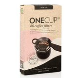 Finum One Cup Coffee Filters, 60 Paper Filters