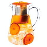 Finum Ice Tea Brewing Pot is made of food-grade plastic, having a capacity of 1800ml.