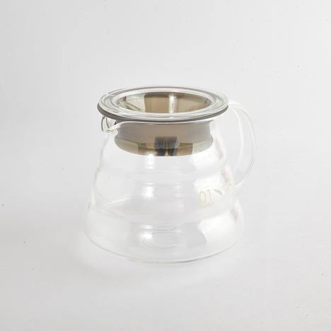 Hario Range Coffee Server is made of heat-resistant borosilicate glass with a capacity of 360ml.