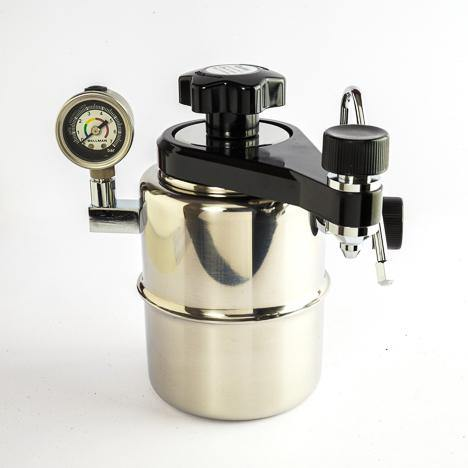 Bellman Stovetop Espresso & Steamer CX-25P, Manual Brewer, Stainless Steel