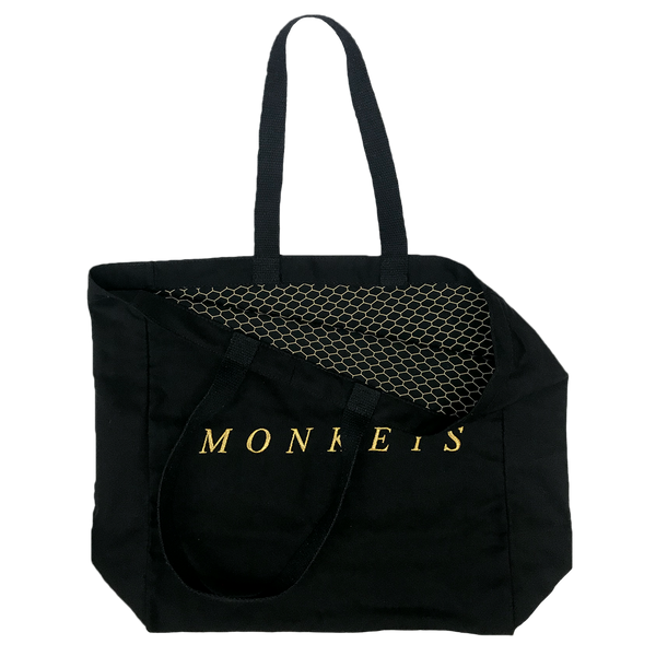 CUSTOM MADE MONKEYS CANVAS SHOPPER