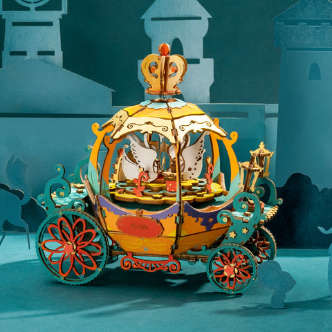 Pumpkin Carriage DIY Model