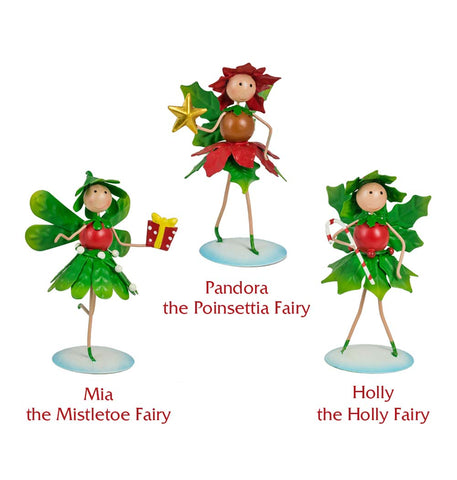 Magical Christmas Fairy Set - 3 Characters