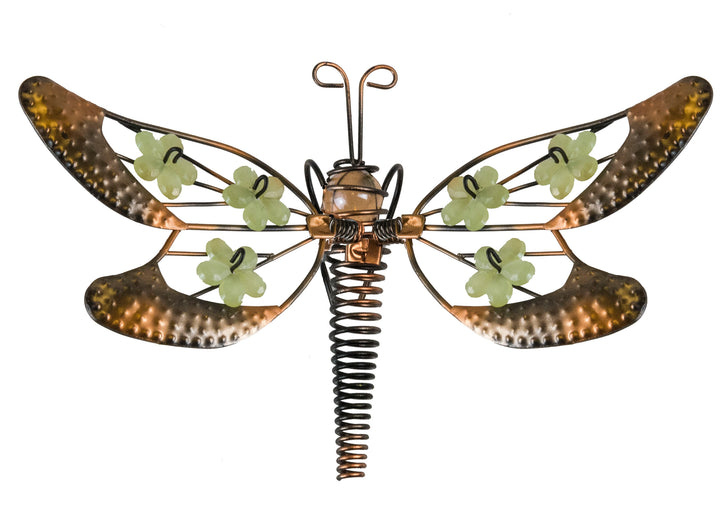 Dragonfly Pot Hangers - Floral Wings Set of 3