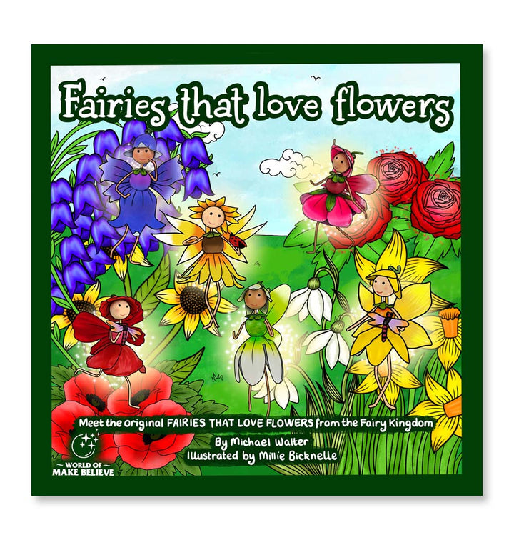 Fairies That Love Flowers Book