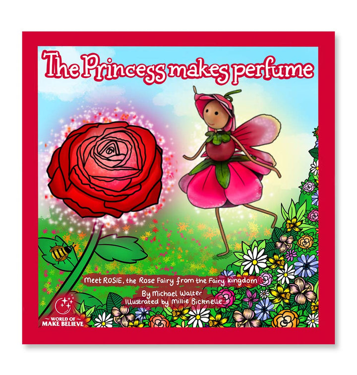The Princess Makes Perfume Book