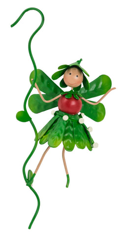 Mia the Mistletoe Christmas Fairy Pot Hanger