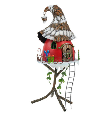 Christmas Pine Cone Elf House