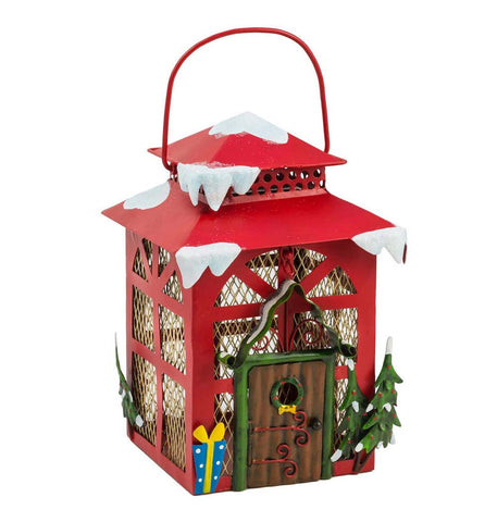Christmas Lantern Elf House