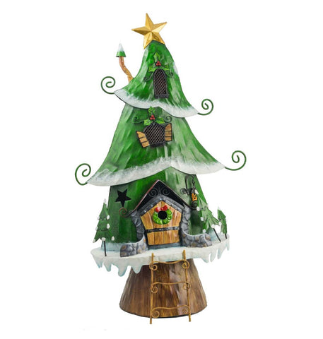 Christmas Tree Elf House - Large