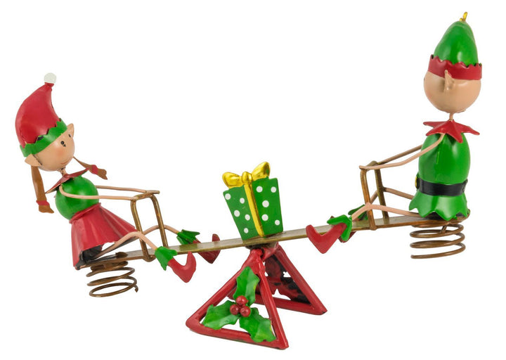 Elves on a Seesaw