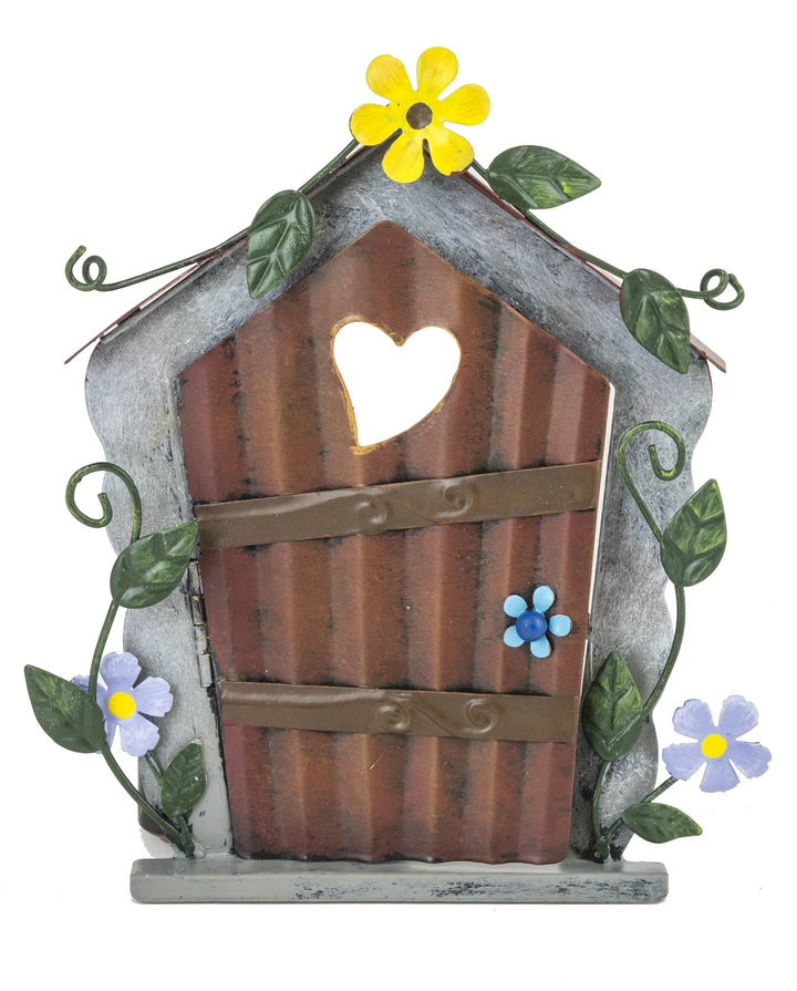 Fairy Door - Yellow Flower