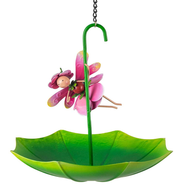Rosie Rose Umbrella Bird Feeder