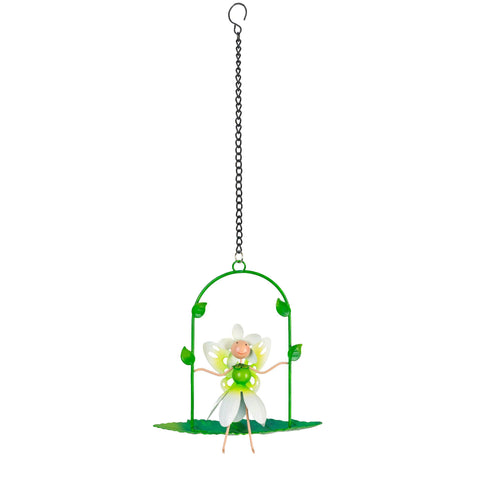 Pearl Snowdrop Fairy Swing