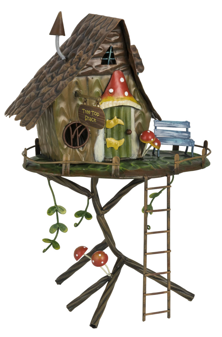 Magical Pixie Set - Pixie Tree Top Shack & 6 Pixie Helpers