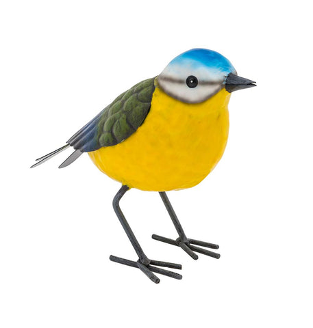 Blue Tit Bird Figurine