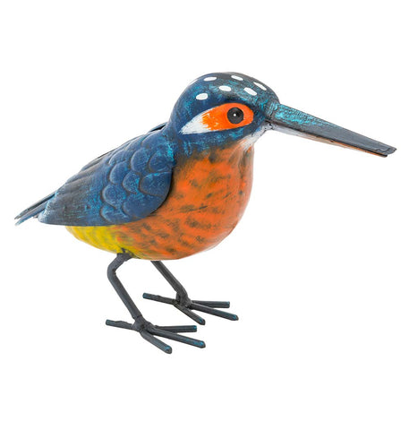 Kingfisher Bird Figurine