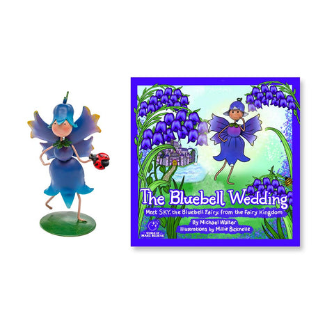 The Bluebell Wedding Book & Bluebell Character