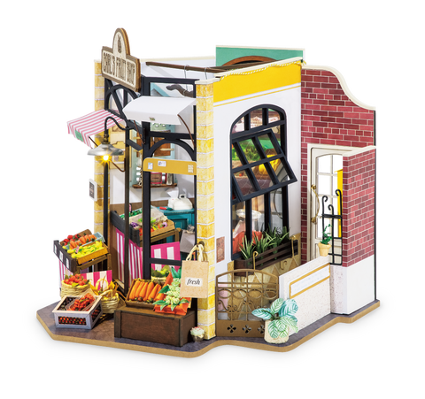 Carl's Fruit Shop DIY Model Kit