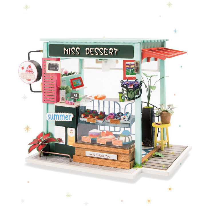 Ice Cream Station DIY Model Kit