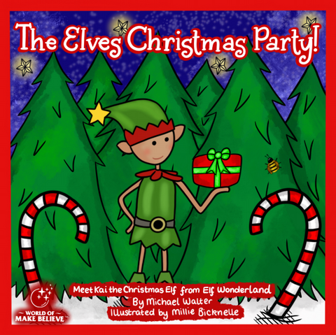 The Elves Christmas Party Book