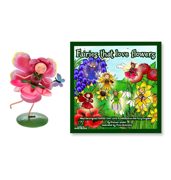 Fairies That Love Flowers Book & Rosie Rose Character